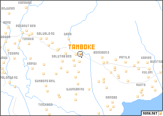 map of Tamboke
