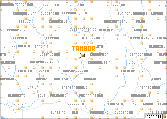 map of Tambor