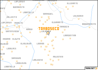 map of Tambo Seco