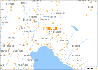 map of Tambuco