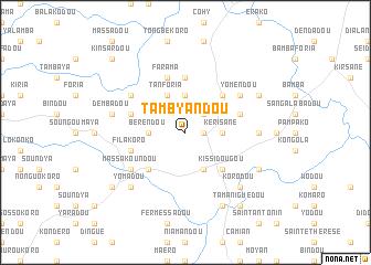 map of Tambyandou