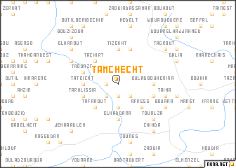 map of Tamchecht