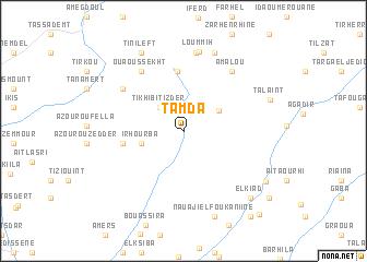 map of Tamda