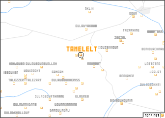 map of Tamelelt