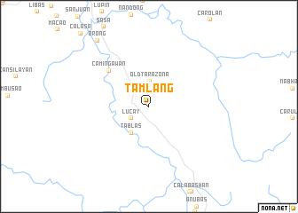map of Tamlang