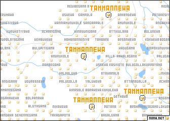 map of Tammannewa