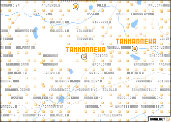 map of Tammannewa