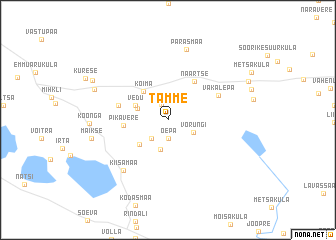 map of Tamme