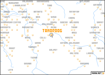 map of Tamoroog