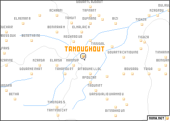 map of Tamoughout