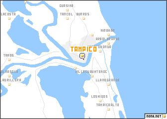 Tampico Mexico map nonanet