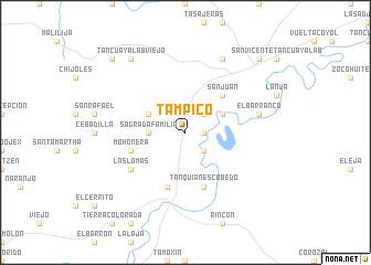 Tampico Mexico Map Nona Net