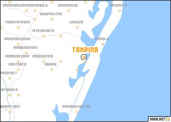map of Tampina