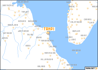 map of Tampi