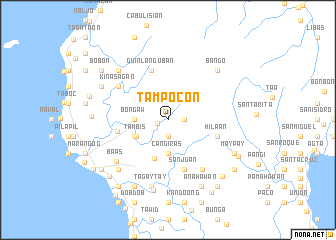 map of Tampocon