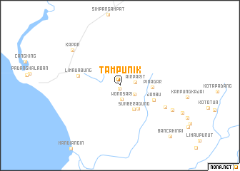 map of Tampunik