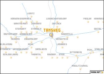 map of Tamsweg