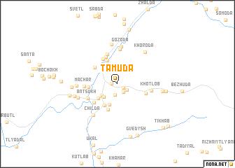 map of Tamuda