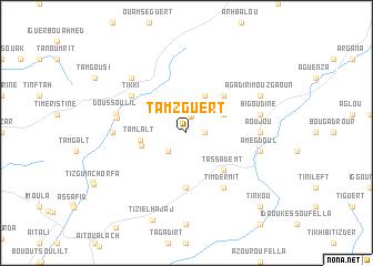 map of Tamzguert