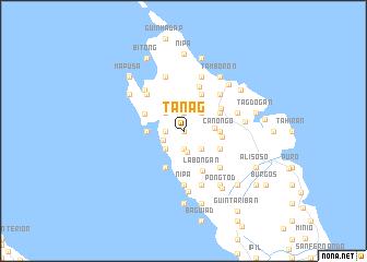 map of Tanag