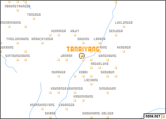 map of Tanaiyāng