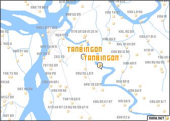 map of Tanbingon