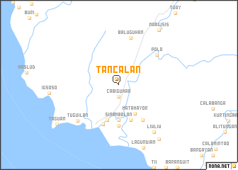 map of Tancalan