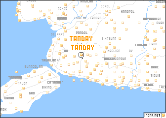 map of Tanday
