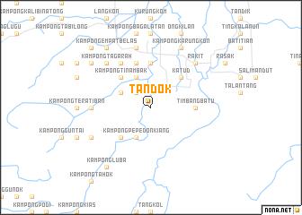 map of Tandok