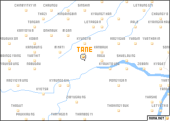 map of Tanè