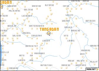 map of Tangadan
