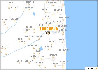 map of Tǝngǝrud