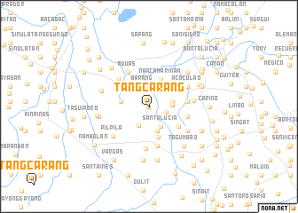 map of Tangcarang