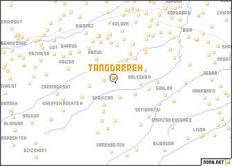 map of Tang Darreh