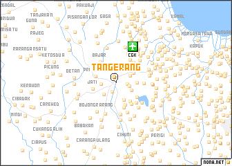 Tangerang Indonesia map nonanet
