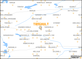map of Tånghult