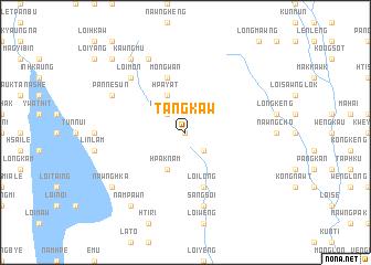 map of Tangkaw