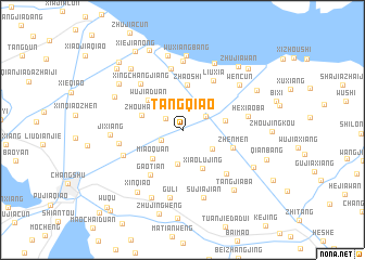 map of Tangqiao