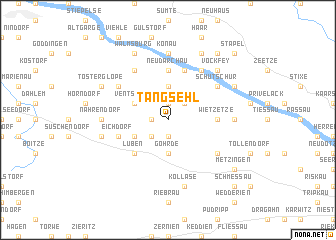 map of Tangsehl