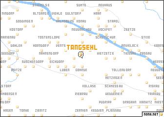 map of Tangsehl