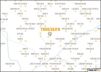 map of Tangséra