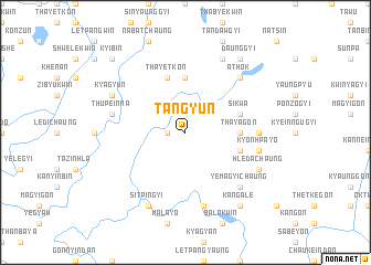 map of Tangyun