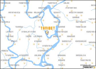 map of Tanibet