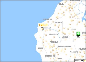 Tanji Gambia The map nonanet