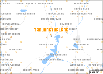 map of Tanjung Tualang