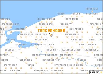 map of Tankenhagen