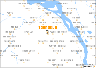 map of Tannakwa