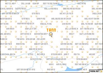 map of Tann