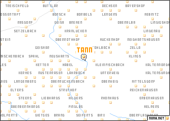 map of Tann