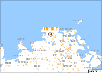 map of Tanque